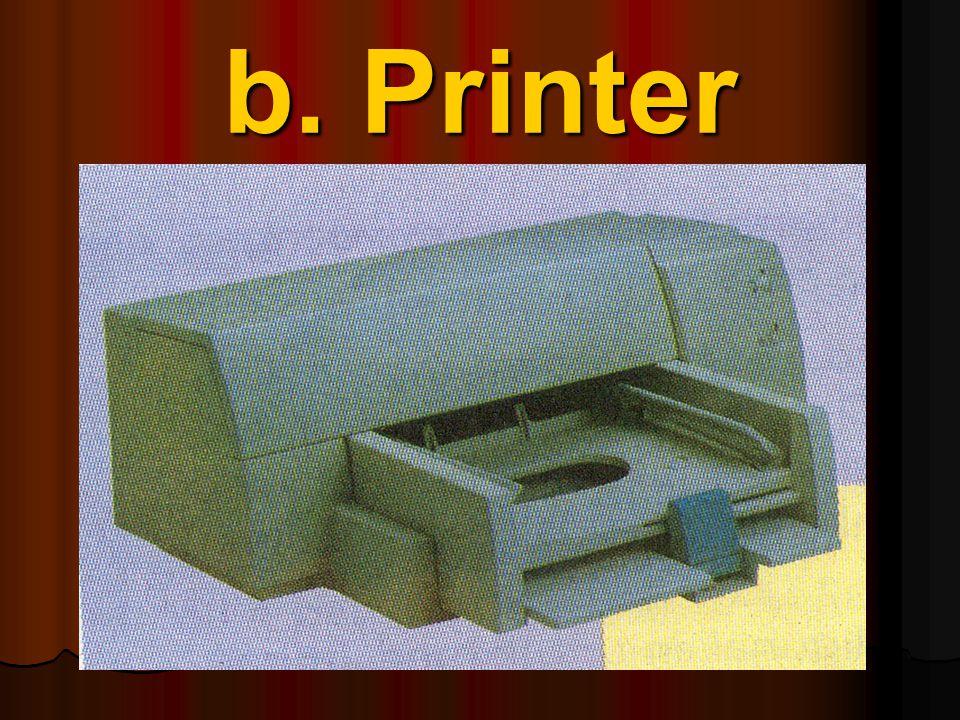 Monitor adalah alat untuk menampilkan hasil pemprosesan data, dalam istilah komputer disebut dengan Soft Copy