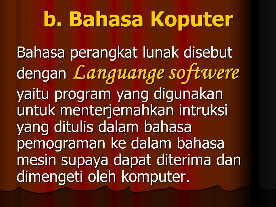 Contohnya : 1. P C DOS (Personal computer disk operating syatem) 2.