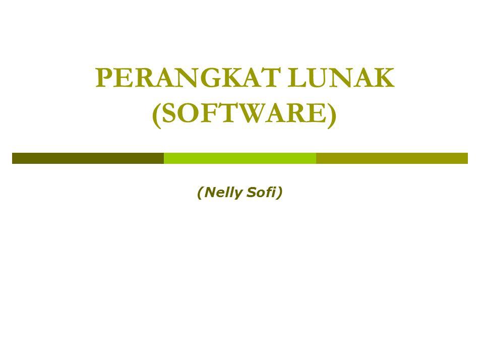 Perangkat Lunak12 Aplikasi Office (cont.)  Spreadsheet Mengelola data dalam bentuk tabel.