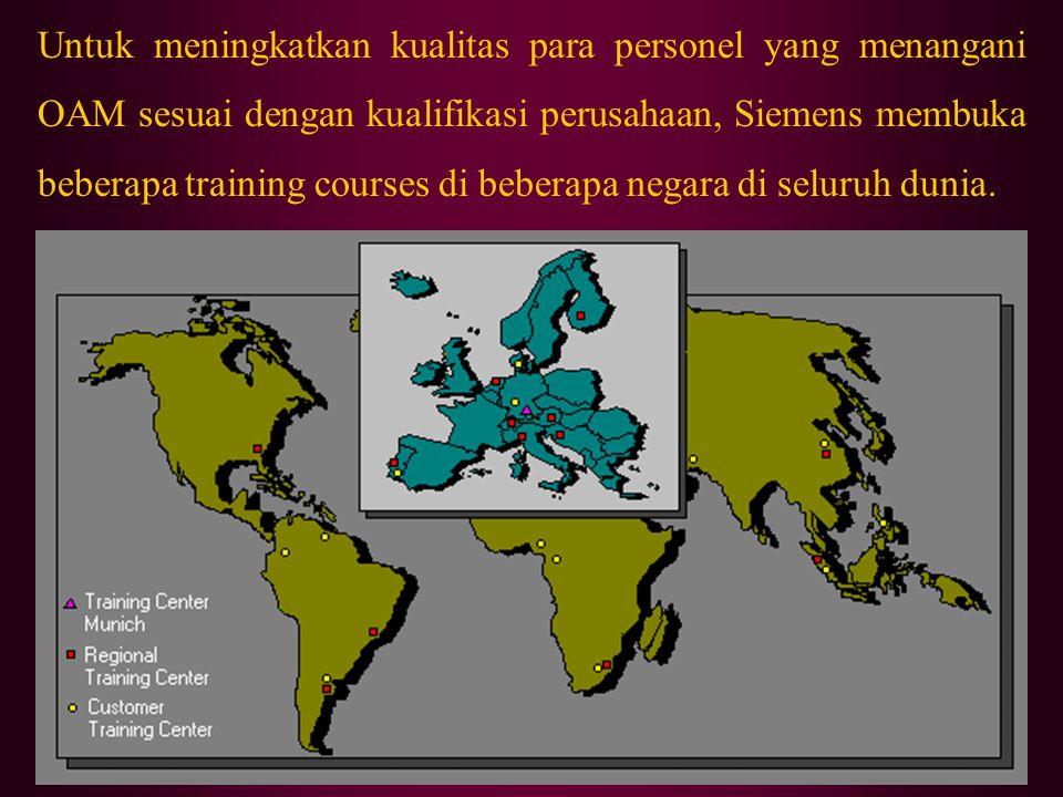 5.5 OAM Personnel Berdasarkan tingkat kesulitan dan frekuensi kerja, tugas - OAM yang dilaksanakan oleh OAM personnel dibagi menjadi beberapa tingkata