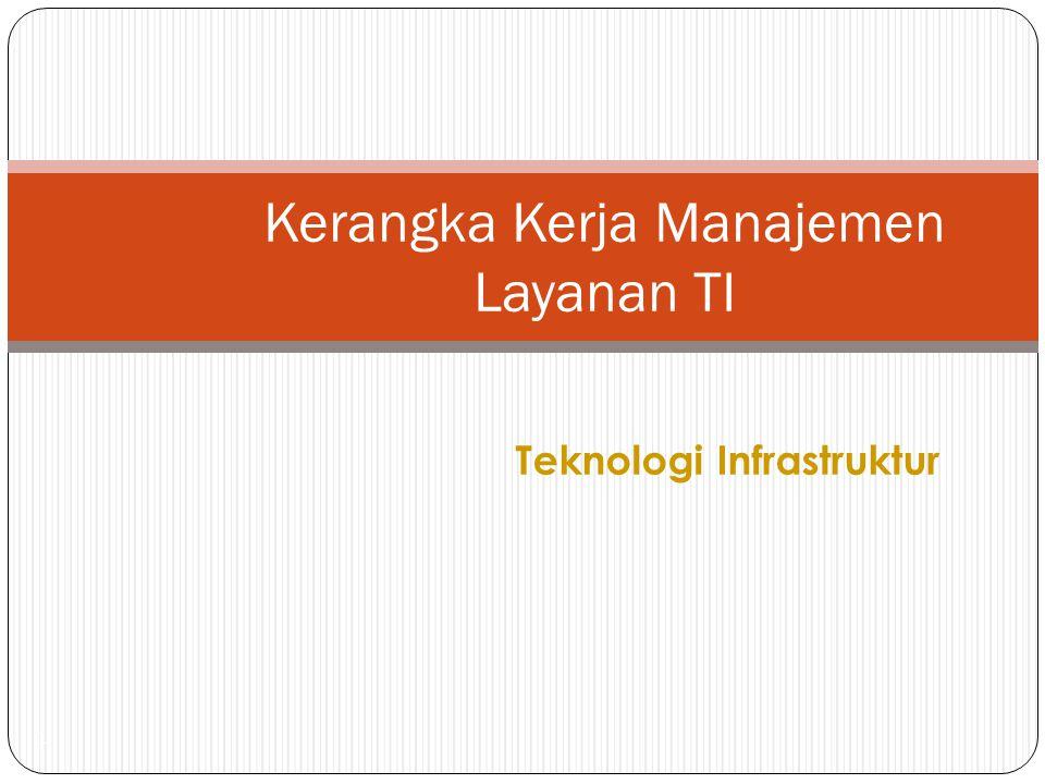 Teknologi Infrastruktur 1 Kerangka Kerja Manajemen Layanan TI