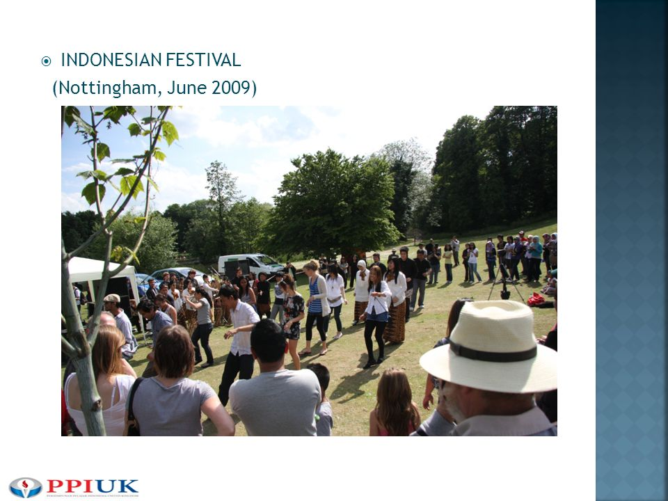  INDONESIAN FESTIVAL (Nottingham, June 2009)