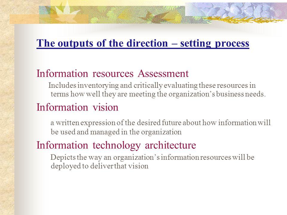 Peranan IT Dalam Organisasi 1.Efisiensi ( process control system ) 2.