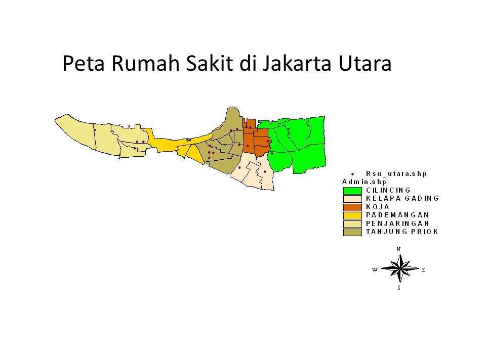 Peta Rumah Sakit di Jakarta Utara