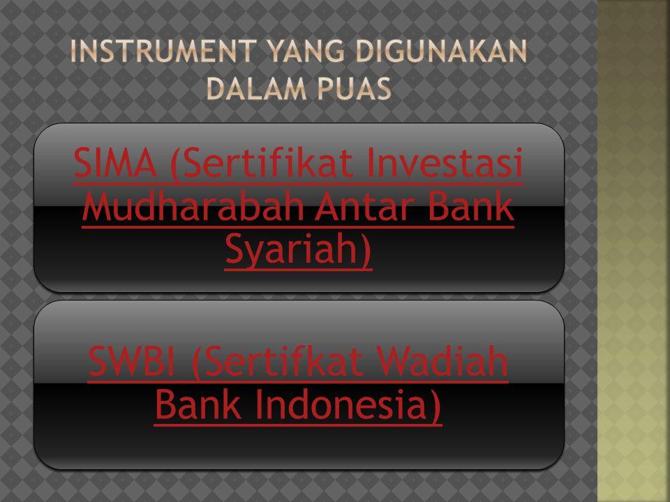 1.Bank Penerbit Sertifikat IMA: a. Kantor Pusat Bank Syariah b.