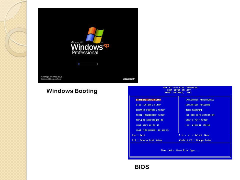 Windows Booting BIOS