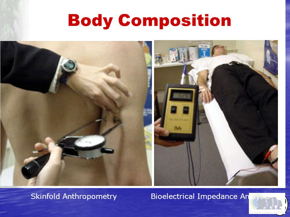 Body Composition Skinfold Anthropometry Bioelectrical Impedance Analysis