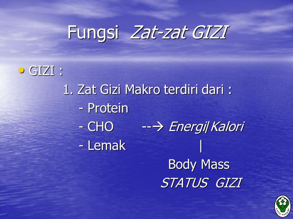 Tujuan Asuhan Gizi : 1) Mempertahankan kesehatan & status gizi 2) Meningkatkan kekebalan tubuh untuk melawan infeksi melawan infeksi 3) Memperpanjang hidup  kualitas hidup lebih baik lebih baik