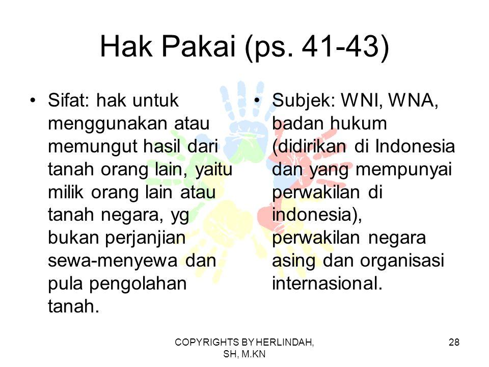 Hak Pakai (ps.