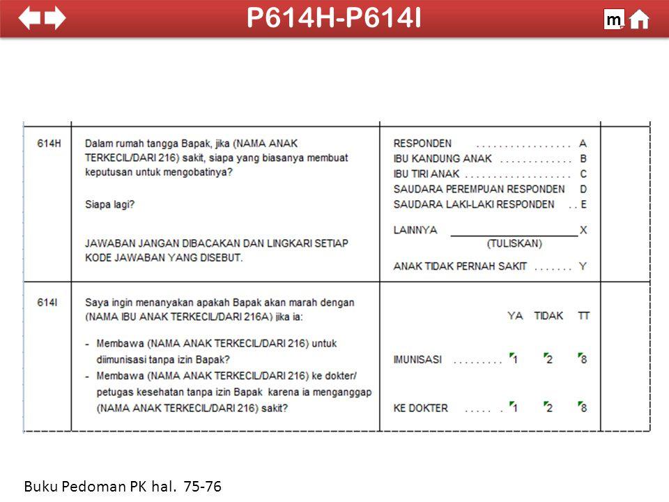 100% SDKI 2012 P614H-P614I m Buku Pedoman PK hal. 75-76