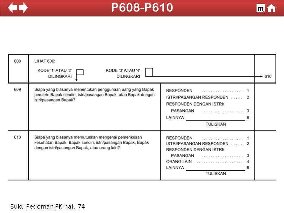 100% SDKI 2012 P608-P610 m Buku Pedoman PK hal. 74