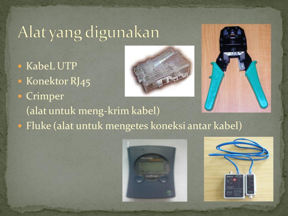 Kabel UTP itu adalah kabel yang khusus dibuat untuk transmisi data dalam jaringan.