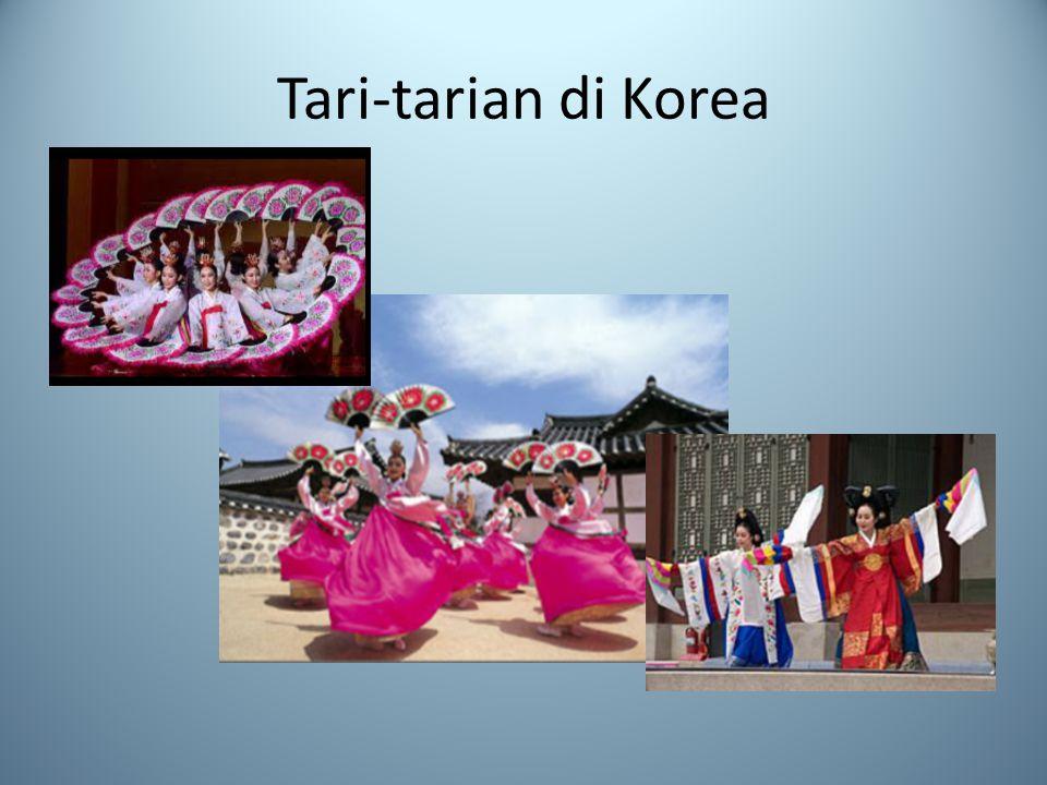Tari-tarian di Korea