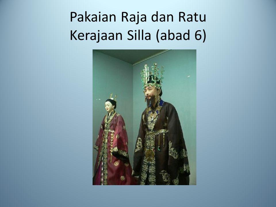 Pakaian Raja dan Ratu Kerajaan Silla (abad 6)