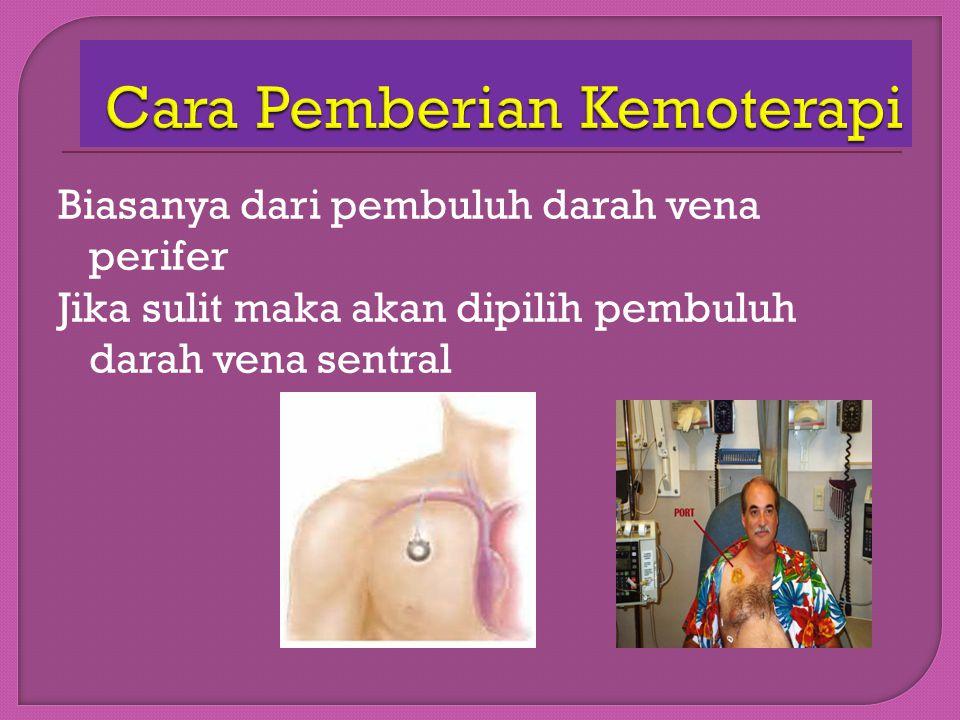  Sistemik: injeksi, oral  Regional: topikal (kulit), intratekal (otak), intraokular (mata), intraperikardial (jantung), intrapleural (paru), intrape