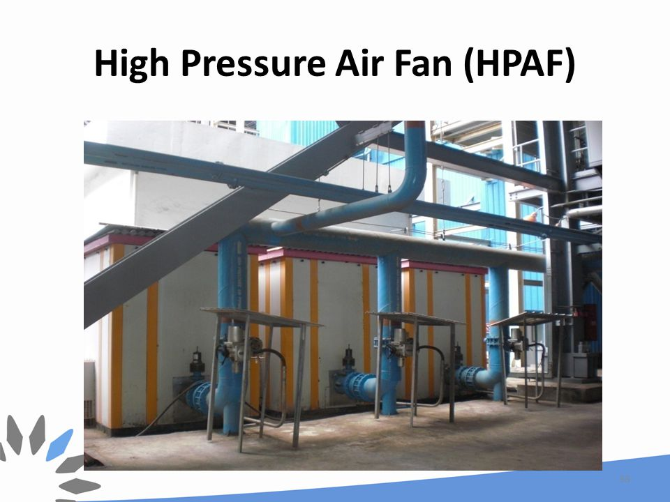 High Pressure Air Fan (HPAF) 33