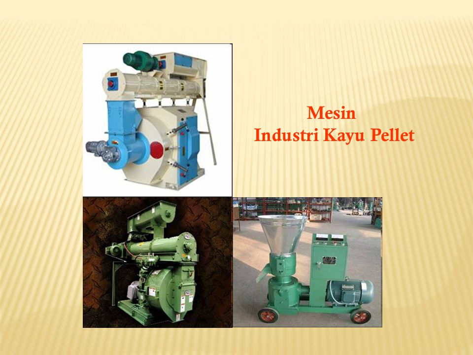Mesin Industri Kayu Pellet