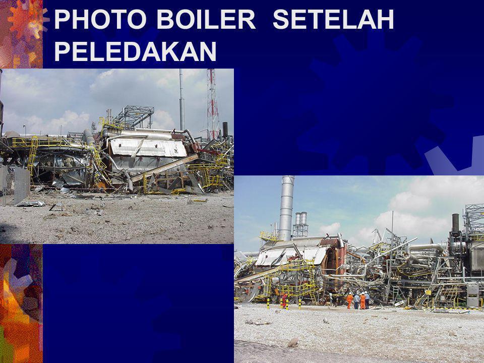 PHOTO BOILER SETELAH PELEDAKAN