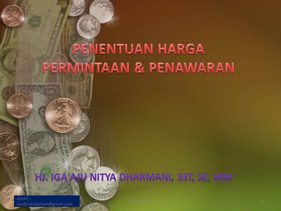 email : ayobicarasantun@gmail.com EKONOMI 11