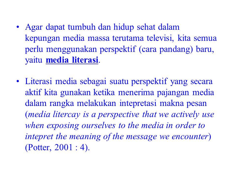 5 Pertanyaan Kunci Media Literasi Untuk menjadi literate, maka perlu diajukan pertanyaan berikut ini : 1.