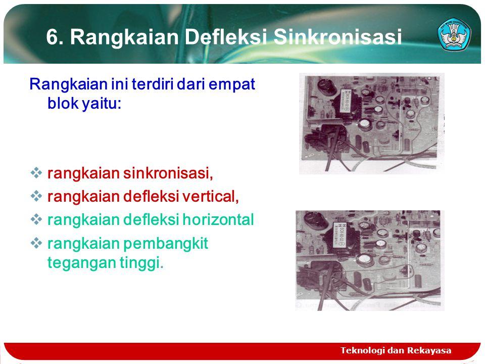 Teknologi dan Rekayasa 6.