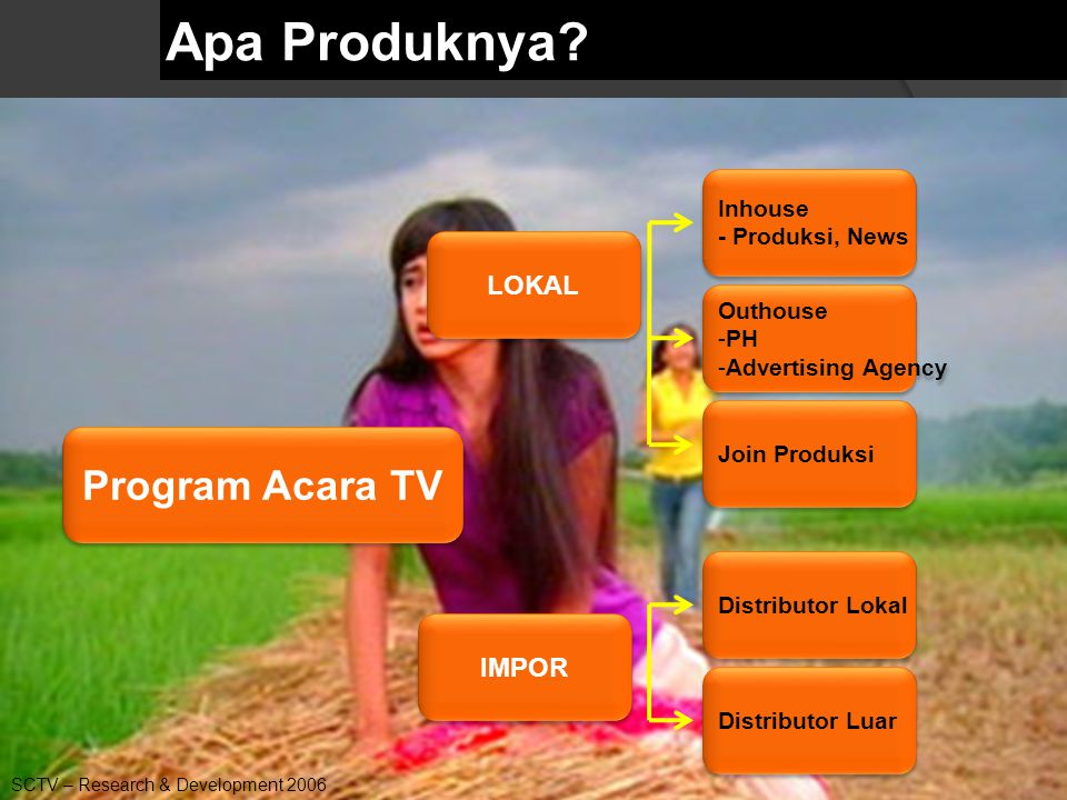 Source: AGBNielsen  PROGRAM = PRODUK atau BARANG Definisi Program