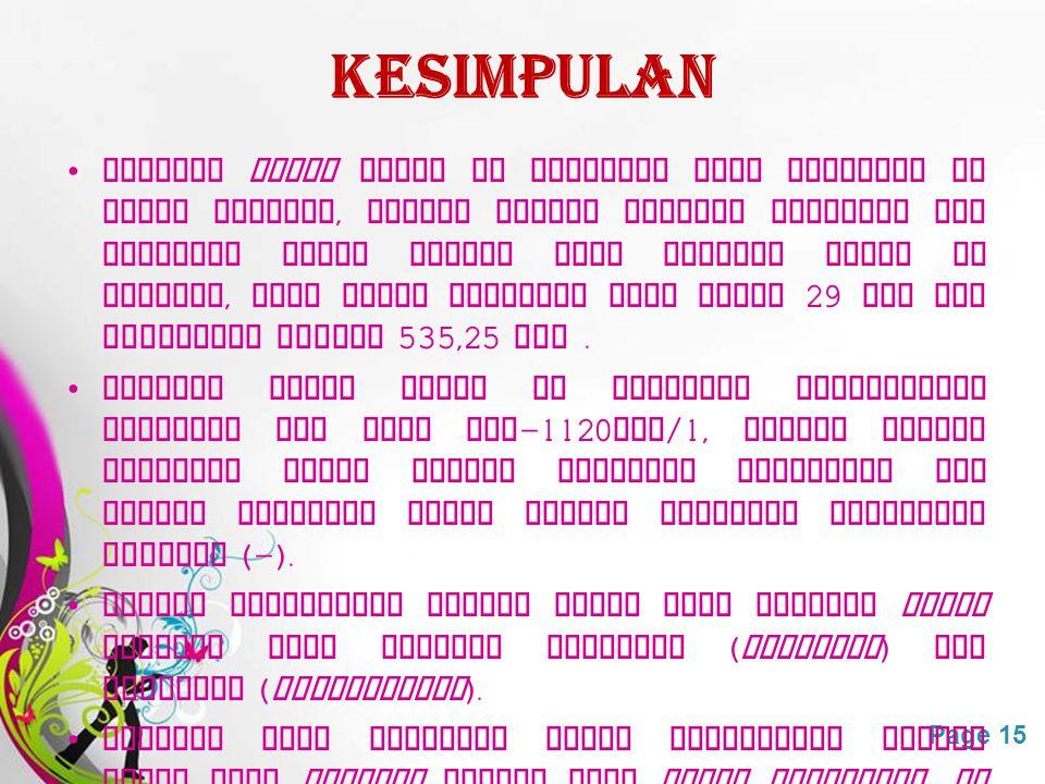 Free Powerpoint TemplatesPage 15 KESIMPULAN Stasiun relay Trans TV Semarang yang terletak di Bukit Merpati, Gombel adalah stasiun penerima dan pemanca