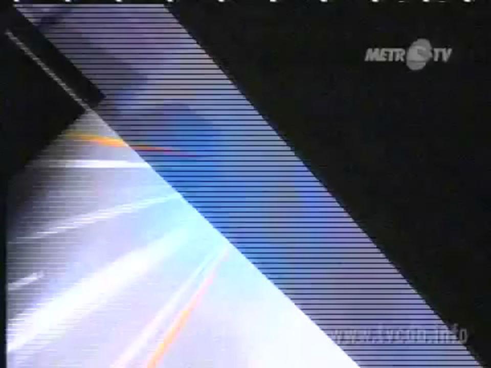 1999 pendirian metro TV 2000 mengudara pertama kali 2001 siaran selama 24 jam