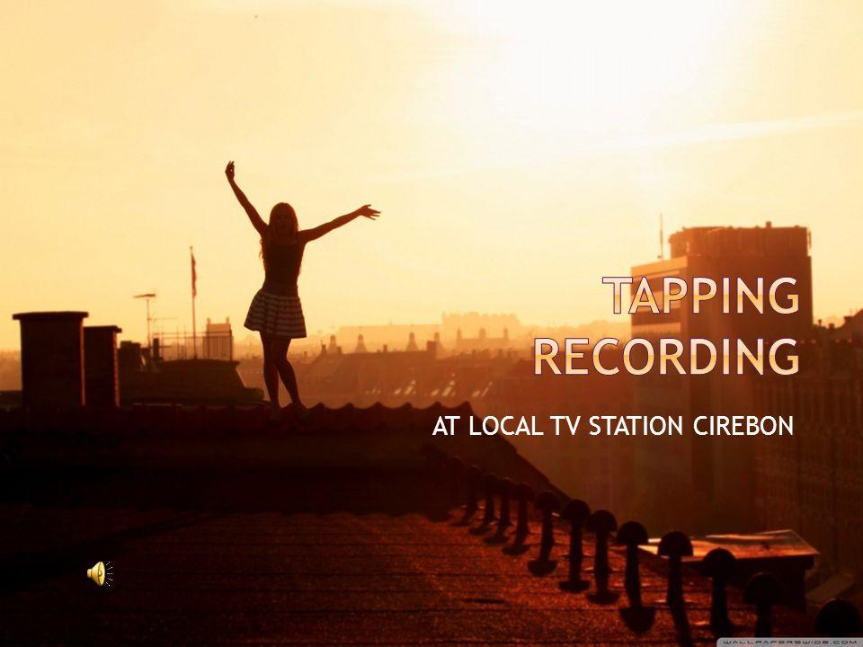 AT LOCAL TV STATION CIREBON