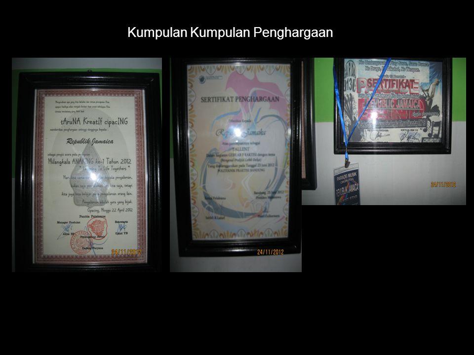 Kumpulan Kumpulan Penghargaan