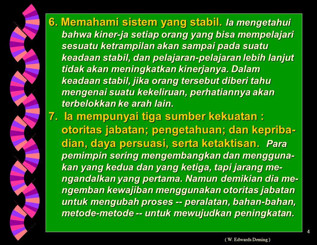 4 6.Memahami sistem yang stabil.