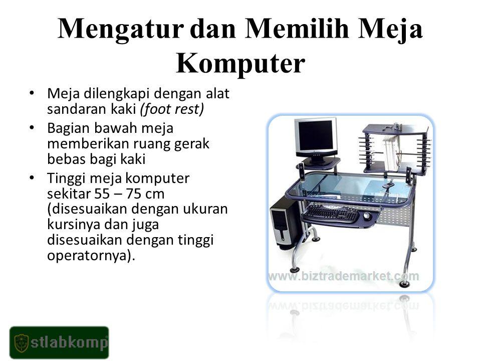 Penggunaan Komputer Sesuai Prosedur Yang Benar Hal yang perlu diperhatikan dalam menggunakan komputer adalah menghidupkan dan mematikan komputer.
