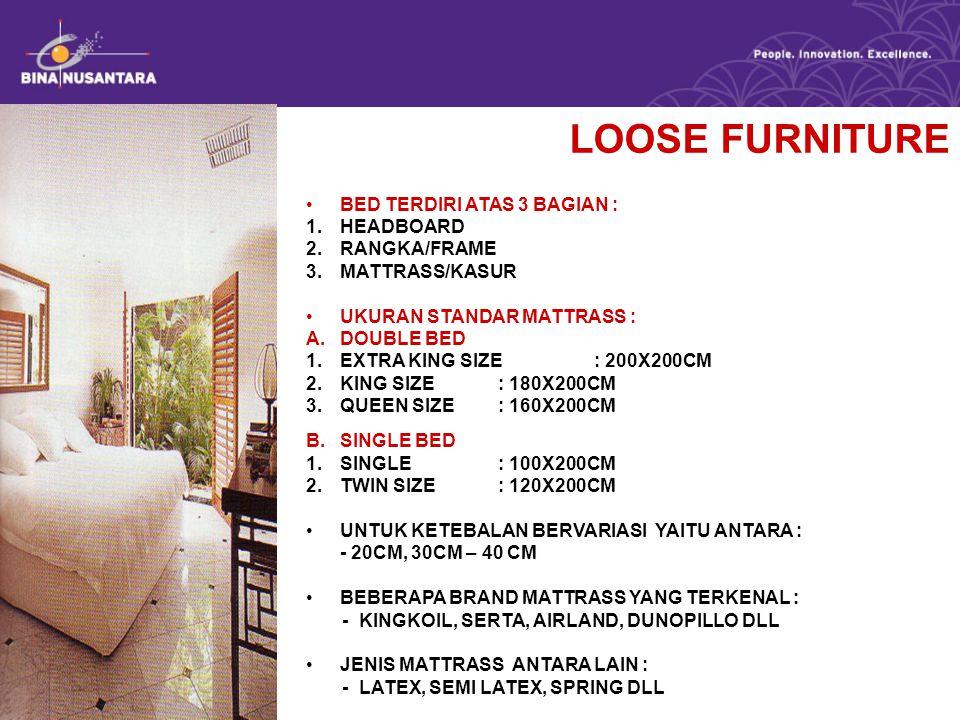 LOOSE FURNITURE MEJA 1.