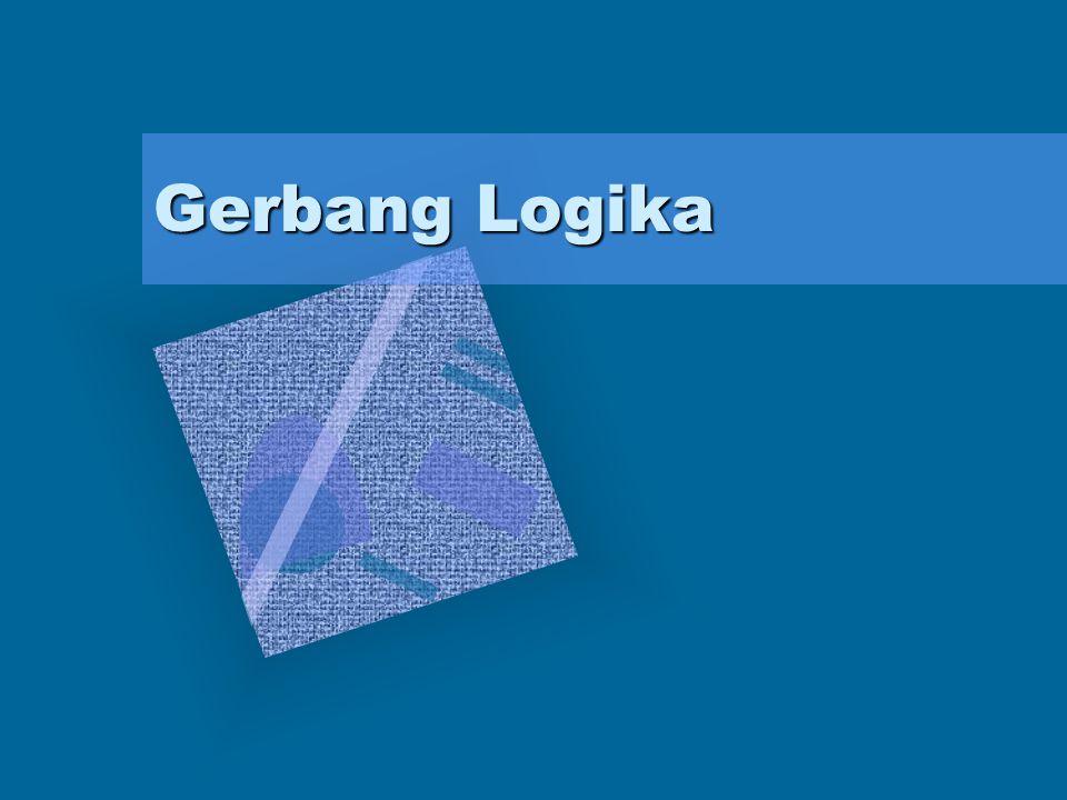 Komponen-komponen elektronika digital biasanya disebut komponen rangkaian logika.