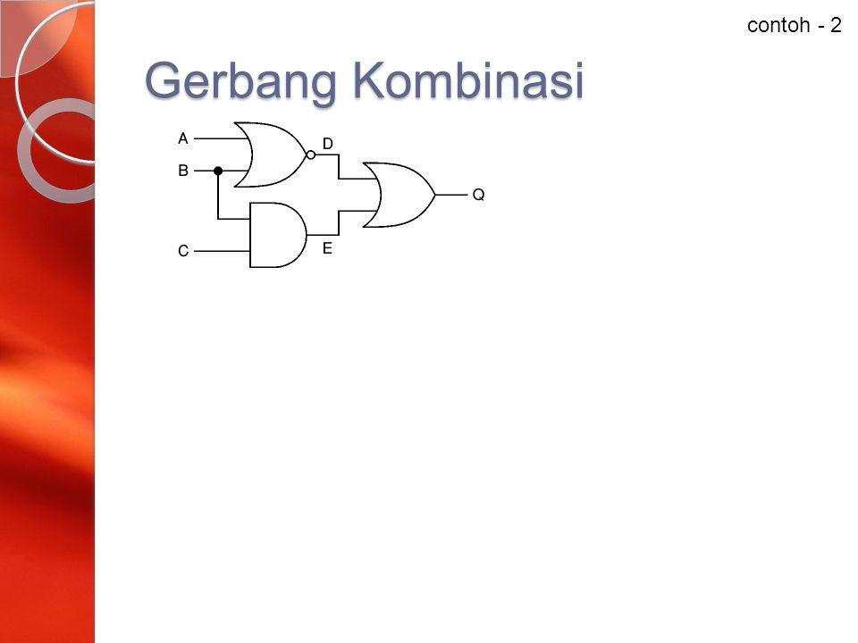 Gerbang Kombinasi contoh - 2