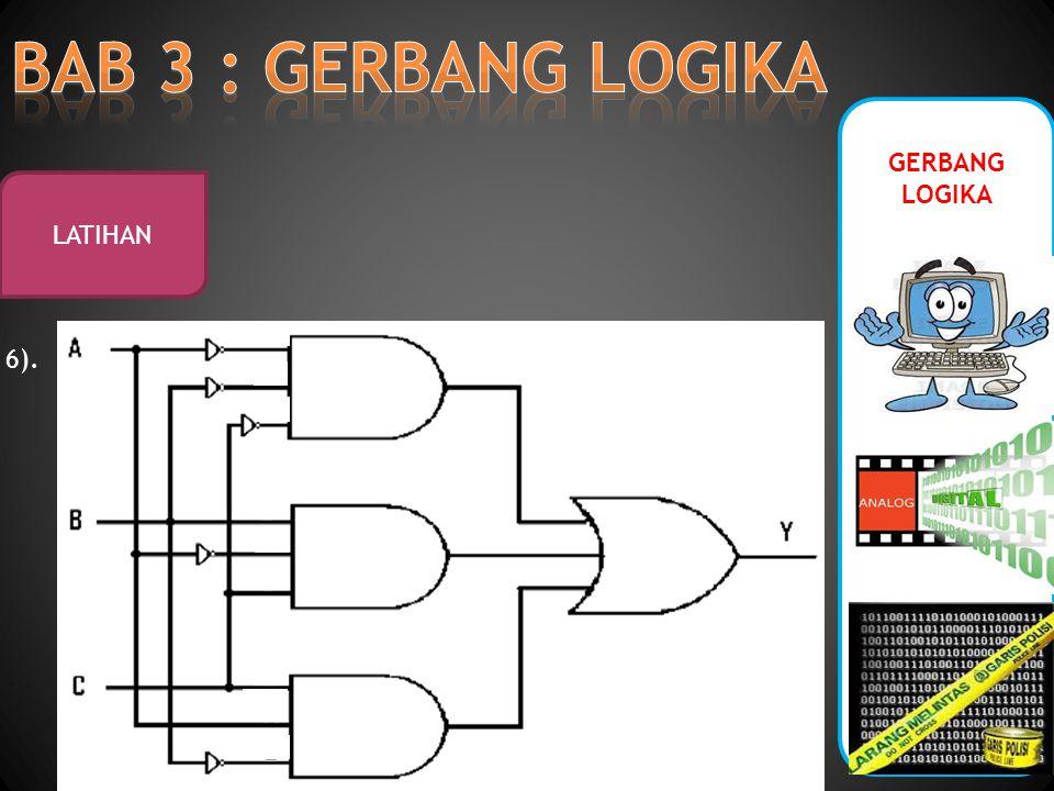 GERBANG LOGIKA LATIHAN 6).