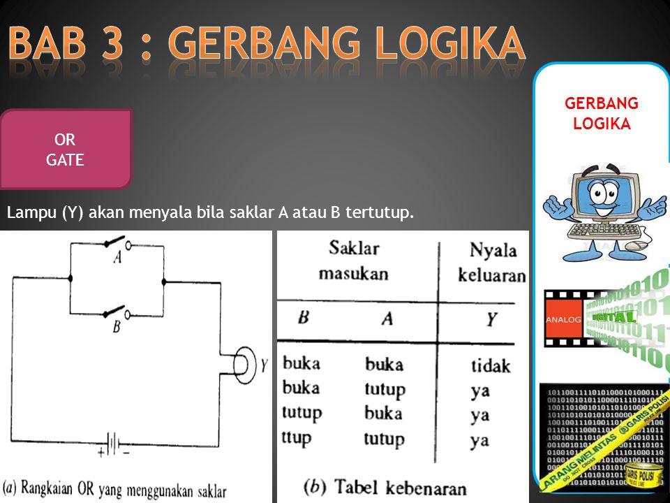 GERBANG LOGIKA OR GATE