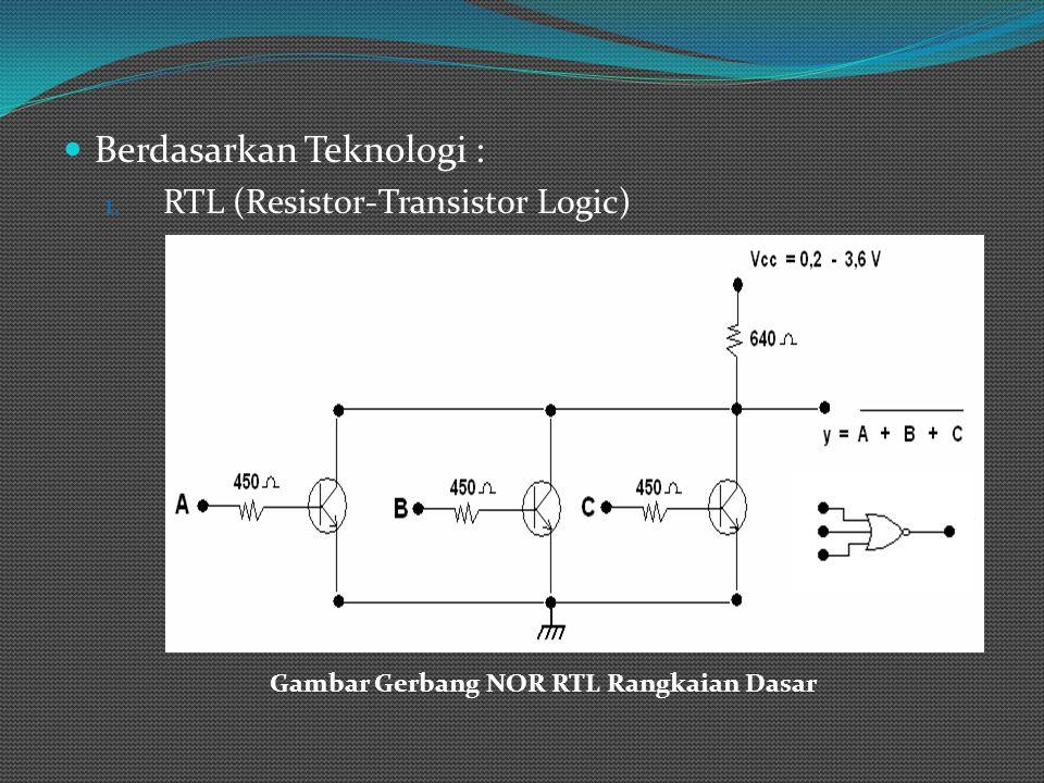 2. DTL (Diode – Transistor Logic) Gambar Gerbang NAND DTL Rangkai Dasar