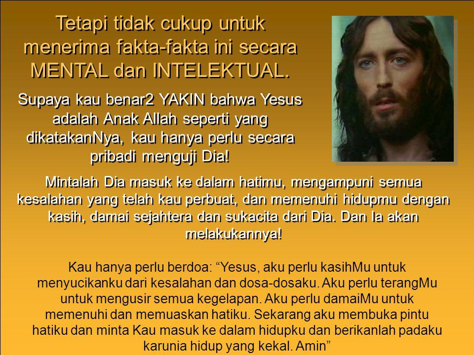 """KEBANGKITAN YESUS KEBANGKITAN YESUS """"Sebab Engkau tidak MENYERAHKAN aku ke DUNIA ORANG MATI, dan tidak membiarkan Orang KudusMu melihat KEBINASAAN"""" (M"""