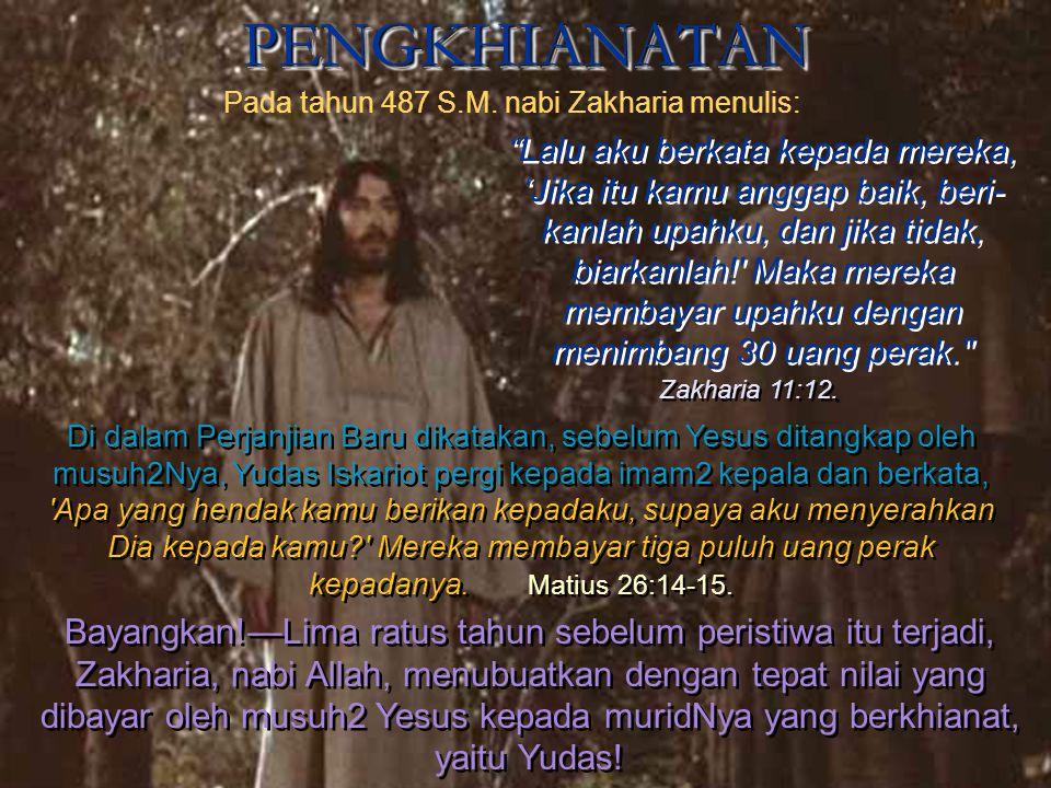 "PROSESI KEMENANGAN MASUK KE JERUSALEM PROSESI KEMENANGAN MASUK KE JERUSALEM Oleh kuasa Roh Tuhan, nabi Zakharia menyuruh orang-orang: ""Bersorak2lah de"