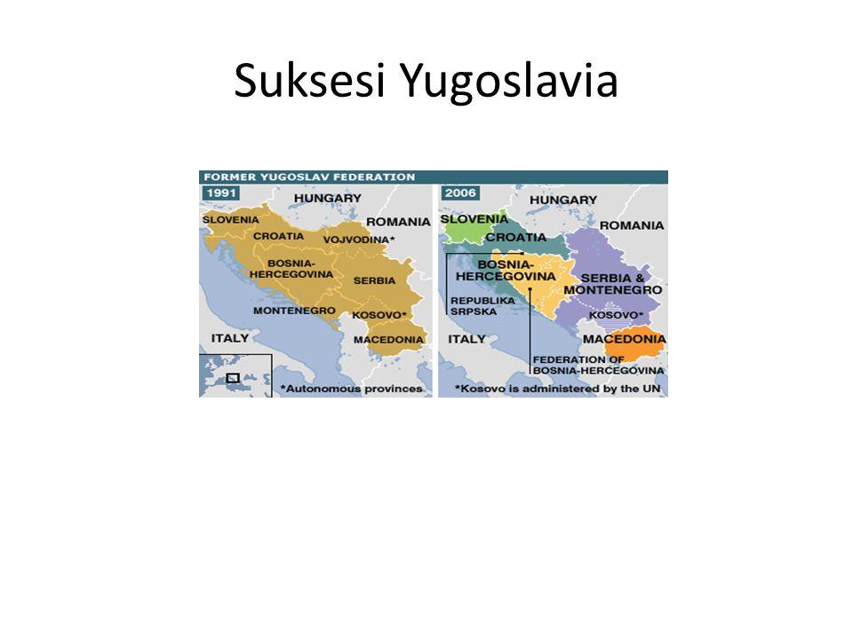 Suksesi Yugoslavia