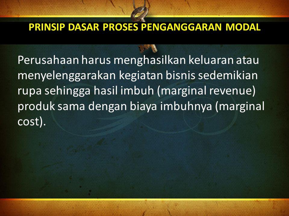Jenis Proyek Independent project: proyek atau investasi yang berdiri sendiri (tidak akan mempengaruhi usulan proyek lainnya).