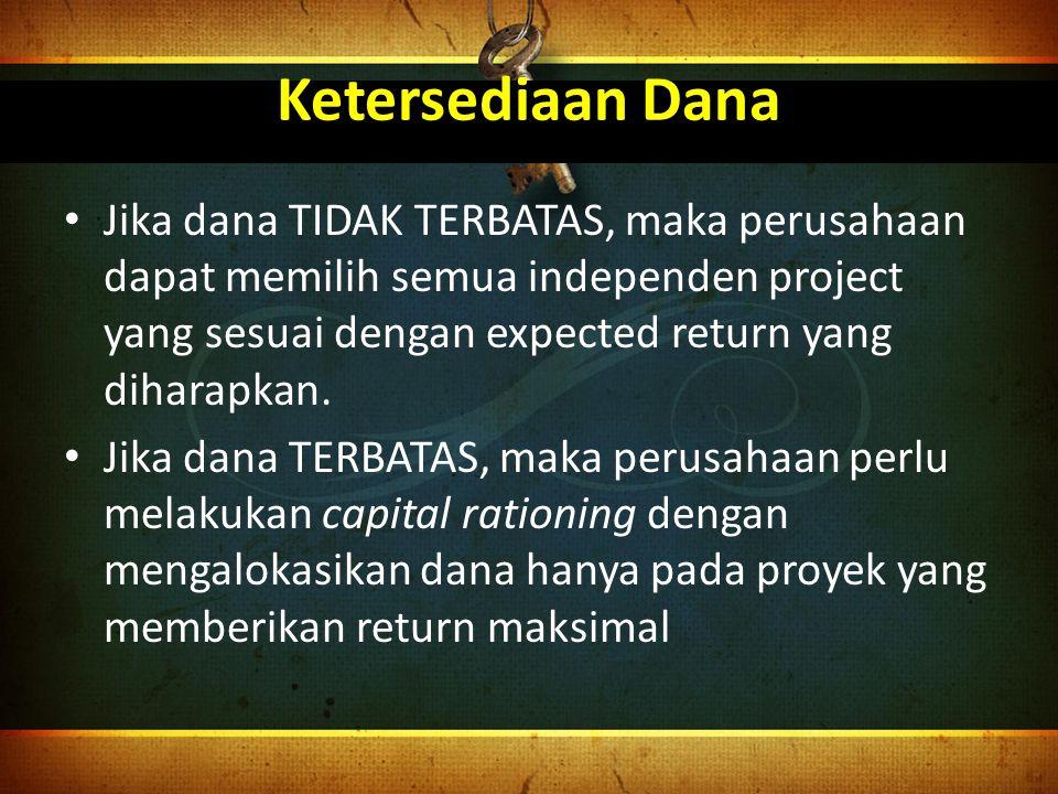Proses Capital Budgeting 1.Pembuatan Proposal 2.Kajian dan Analisa 3.Pengambilan Keputusan 4.Implementasi 5.Follow Up (tindak lanjut)
