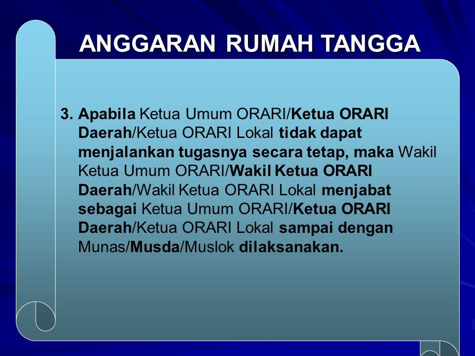 ANGGARAN RUMAH TANGGA 3.