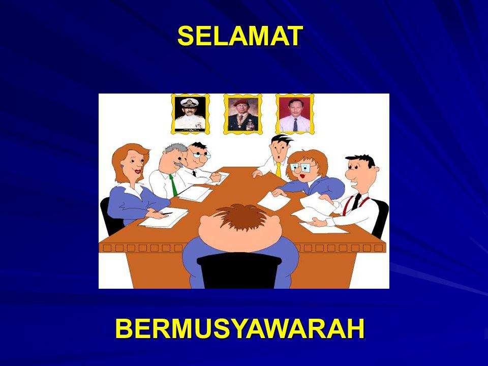 SELAMAT BERMUSYAWARAH