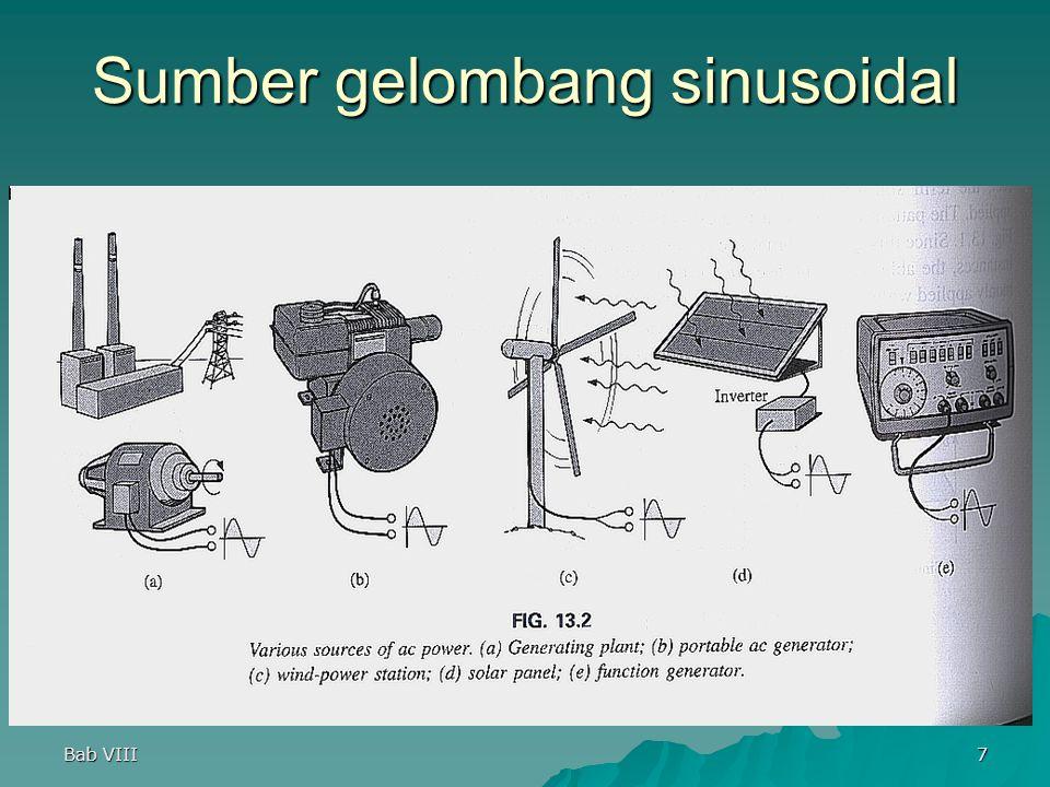 Bab VIII7 Sumber gelombang sinusoidal