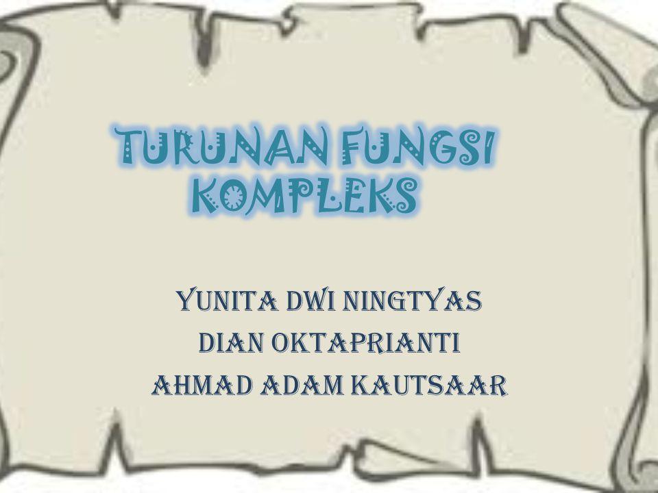 Yunita Dwi Ningtyas Dian Oktaprianti Ahmad Adam kautsaar