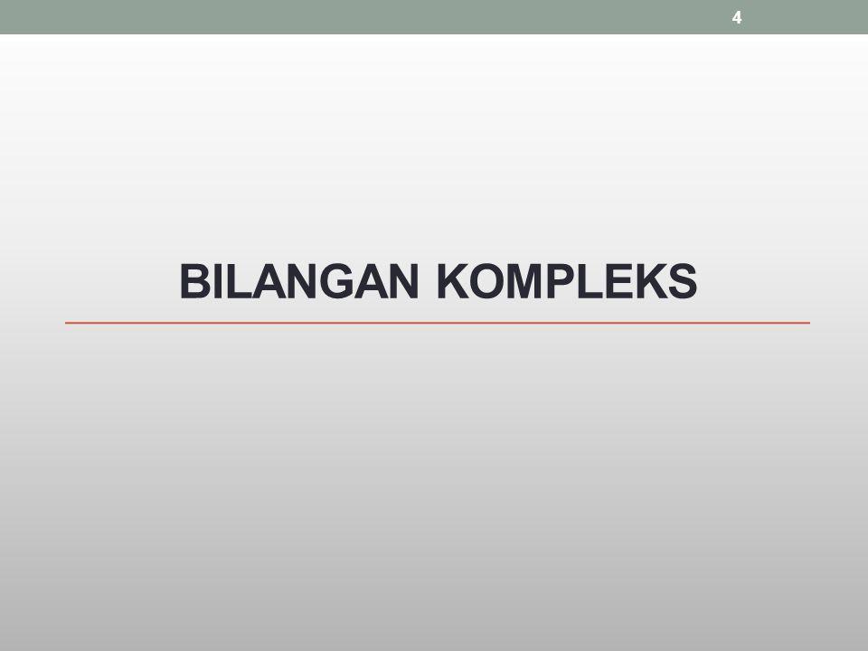 BILANGAN KOMPLEKS 4