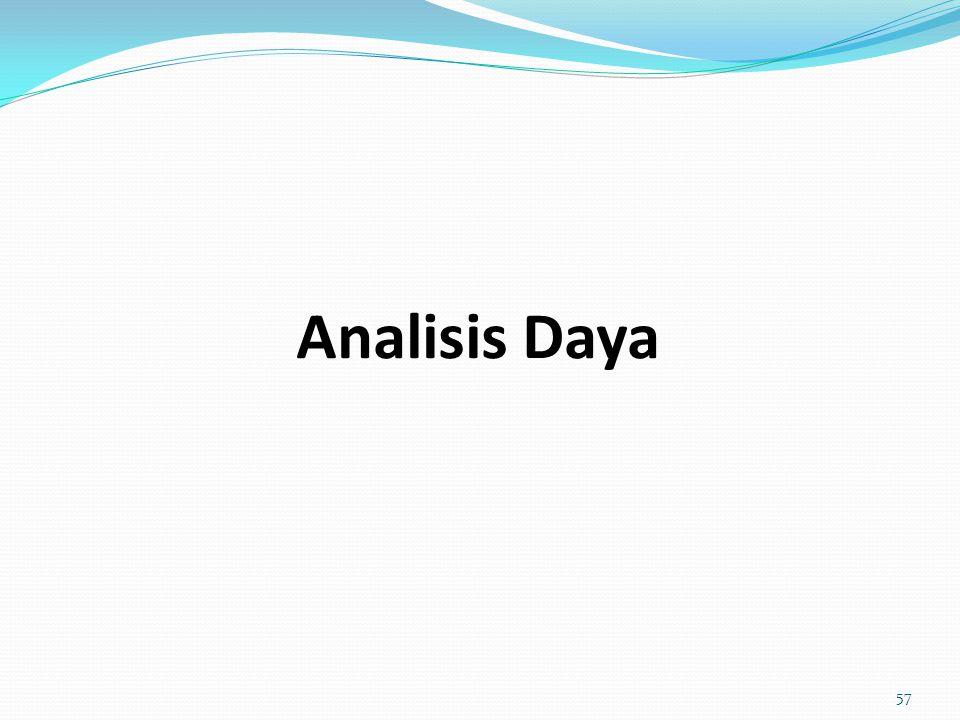 Analisis Daya 57