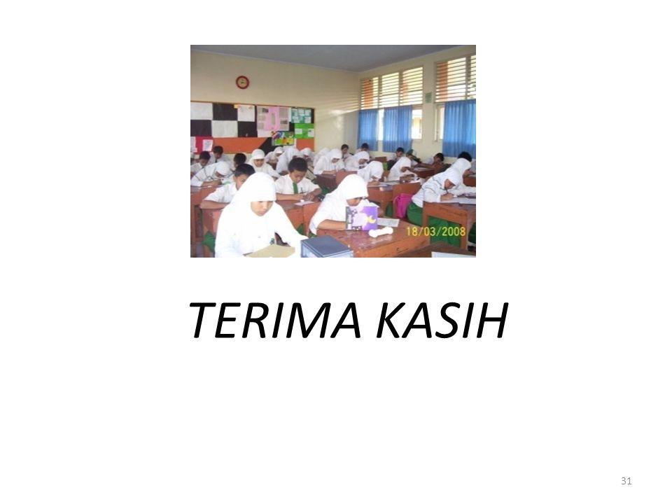 TERIMA KASIH 31